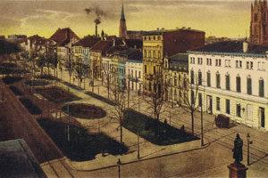 ostwall-krefeld-postkarte-prachtstraße