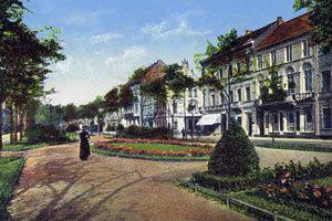 ostwall-krefeld-prachtboulevard-postkarte-schmuckanlage
