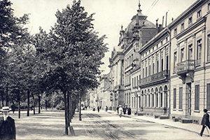 Ostwall Krefeld Postkarte